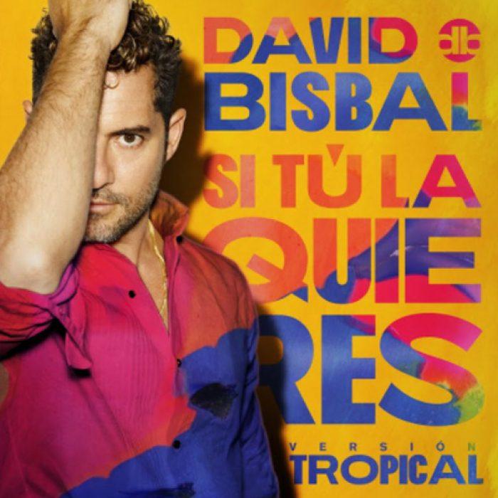 David Bisbal - Si Tu La Quieres Versión Tropical -ingeniero de Grabación, MIX - MASTERED