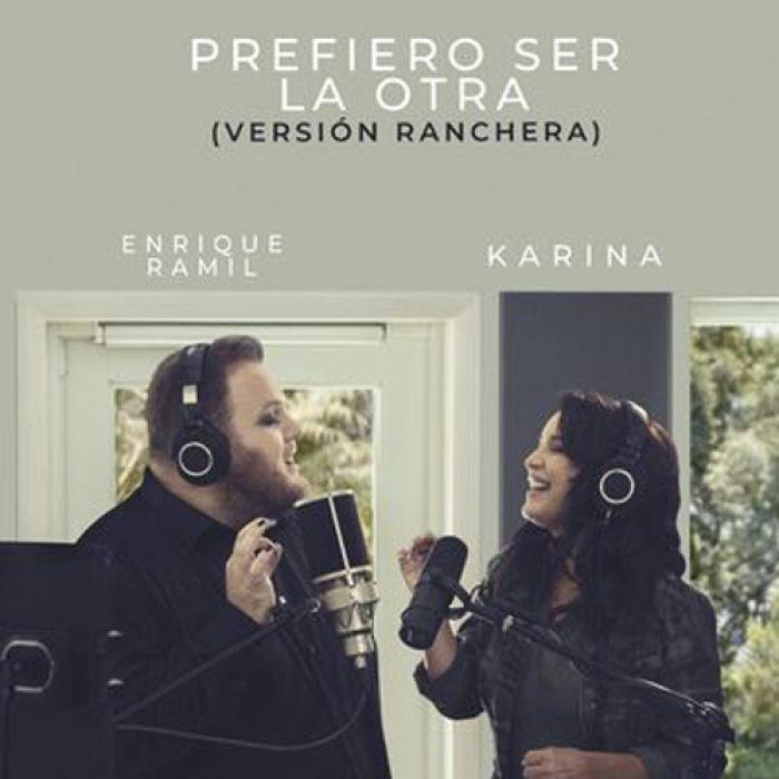 Enrique Ramil ft Karina - prefiero ser la otra MIX - MASTERED