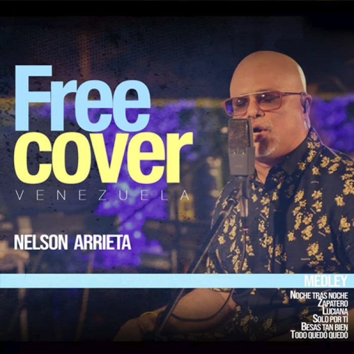 Free Cover midley - Nelson Arrieta - MIX - MASTERED